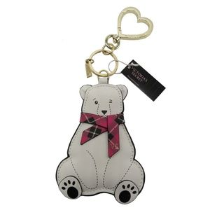 Victoria's Secret Polar Bear Keychain